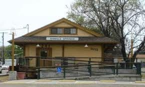 The Shingle Springs Depot was recently restored and is now Country Produce.