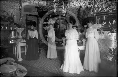 Millinery in Placerville c.1900
