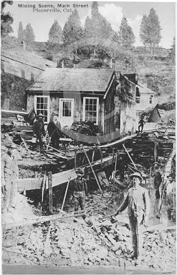 Mining Under Main Street, Placerville